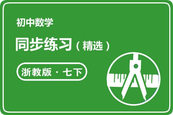 2021浙教版初中数学七年级下册同步练习精选(共28套打包)
