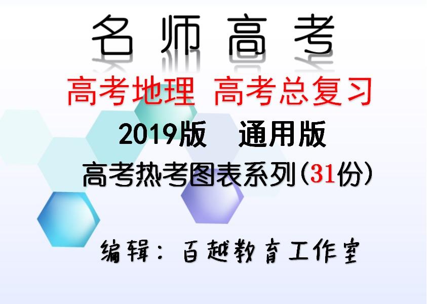 【名师高考】2019版高考地理总复习 高考热考图标系列汇编(31份含答案)