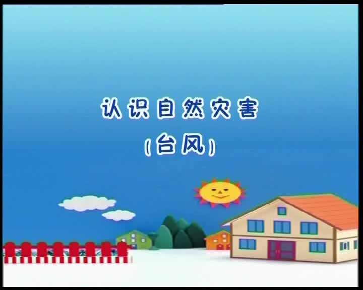冀教版道德与法治二年级上册第12课《在灾害面前课:认识台风》视频素材.wmv
