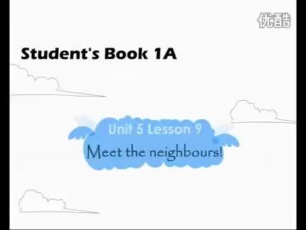 新概念英语青少版1A《Unit 5 Meet the neighbours!》视频.flv