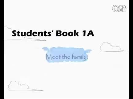 新概念英语青少版1A《Unit 1 Meet the family》视频.flv