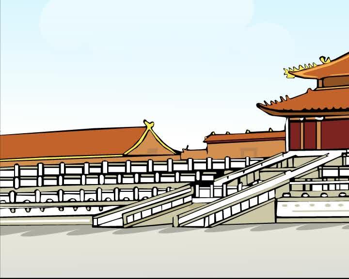 仁爱版英语九年级下册Unit 5 Topic 1《China attracts millions of tourists from》3-1-1a视频素材.mp4