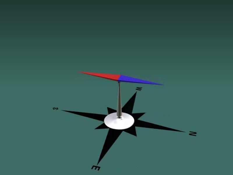 沪科版物理九年级《奥斯特实验》wmv视频素材.wmv