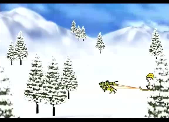 花城版音乐七上第2单元《钢琴独奏雪橇》儿歌小雪橇.mp4